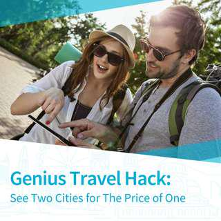 Genius Travel Hack: See Two Cities for The Price of One
