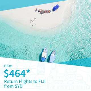 Cheap Return Flights to Fiji