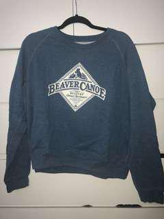 Roots/Beaver Canoe Crewneck Sweater