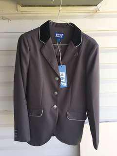 ELT dark grey show jacket size 10