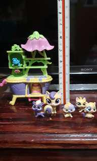 5 pcs Littlest Pet Shop with Disney Toy