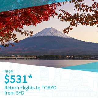 Cheap Return Flights to Tokyo