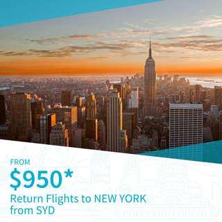 Cheap Return Flights to New York