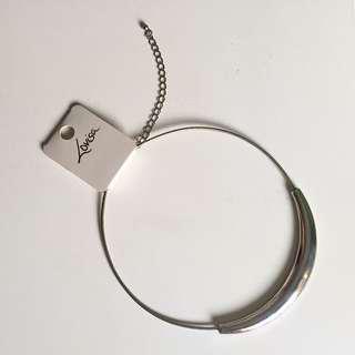 Lovisa Minimalist Metal Statement Necklace