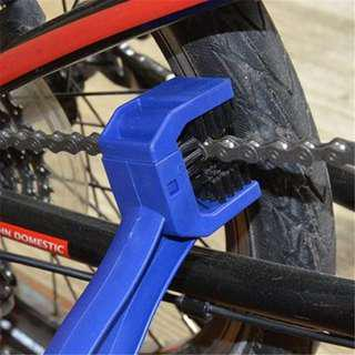 Bicycle motorcycle Chain Brush Cleaner Oil Wash Bike