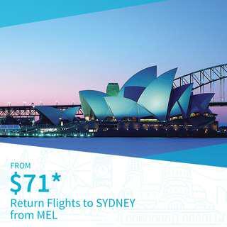 Cheap Return Flights to Sydney