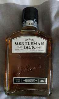 Gentlemen Jack Whiskey