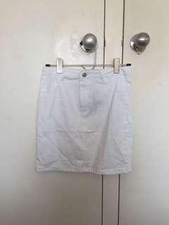 BNWT White Skirt