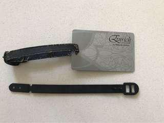 Malaysian Airlines MH Enrich Silver Luggage tag