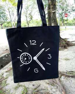 Tote Bag Clock's Design Rm 9