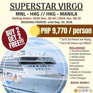 Super Star Virgo Cruise to Hong Kong