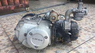 Enjin lifan status scrap 125cc