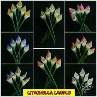 CITRONELLA CALLALILY CANDLES
