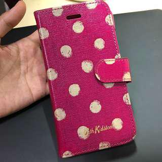 Cath Kidston pink polka dot Iphone 7 flip case