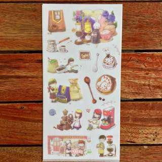 The Coffee Shop Sticker Sheet (B)