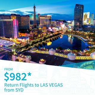 Cheap Return Flights to Las Vegas