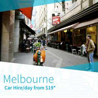 Car Hire in Melbourne
