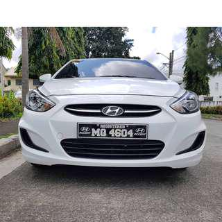 Hyundai Accent 2017 Acquired Automatic