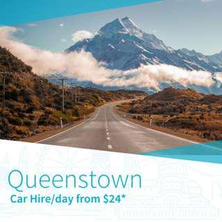 Car Hire in Queenstown