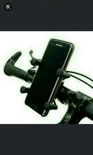 🆕🆒 New Version Universal Rotating 360 Degrees X-Grip Clamp Mount Bike Bicycle Phone Holder For CellPhone  ✔Made of ABS, Not Cheap Plastic, Same Material Used In, LEGO® Bricks💪  ✔ Easy In Easy Out And Very Grippy!