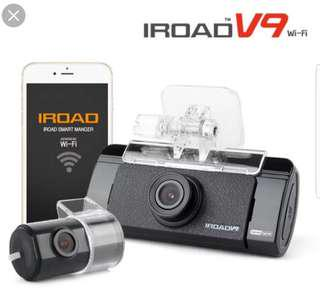 Iroad V9 Front n rear