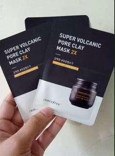 Super volcanic pore clay mask 2x