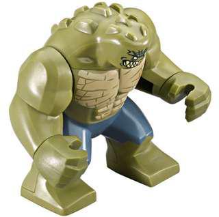 LEGO killer croc big minifigure 76055 dc comics Super hero batman