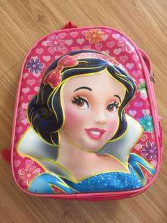 Snow white Backpack for girls, school bag