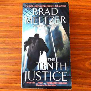 The Tenth Justice By Brad Meltzer #1212
