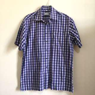 kemeja slim fit flannel