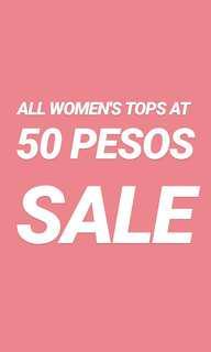 50 pesos each! 3 DAY SALE