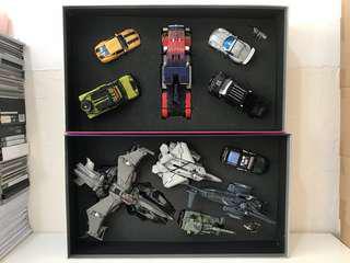 全新 2008 香港 動漫節 變形金剛 Transformers 電影 Movie Premium Series 博狂 Boxset 一對