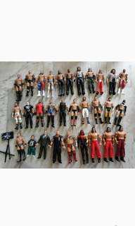 WWE Used Basic Figures