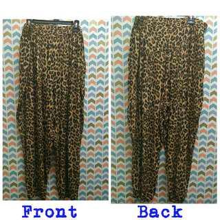 Preloved Plussize UK22 Harem Pants
