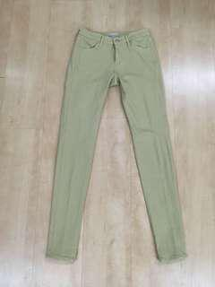 Uniqlo Skinny Jeans Beige