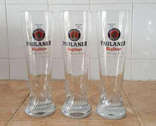 Paulaner beer glass cup