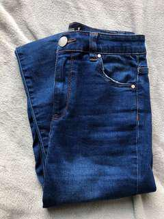Glassons Skinny high waisted Jeans Size 8