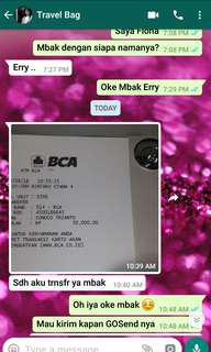 Real Transaction Alhamdulillah ❤ #Testimony