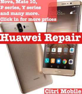 Huawei Repair, Phone Repair, LCD Repair, Screen Repair