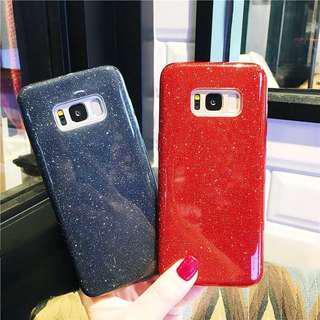 Note 9 Note 8 S9 plus Samsung glitter case