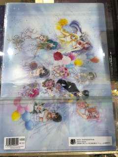 日本 sailor moon store 限定 file 三個