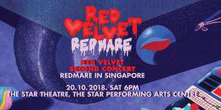 WTS CAT 1 Sect E Redmare Red Velvet Concert Tickets x2