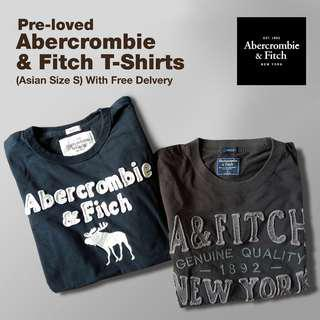Set of Abercrombie & Fitch Tshirts