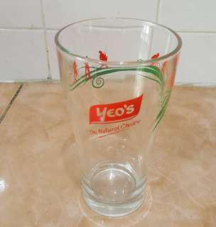 Yeo's glass cup