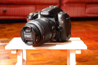 Nikon D80 | 10mp no video recording
