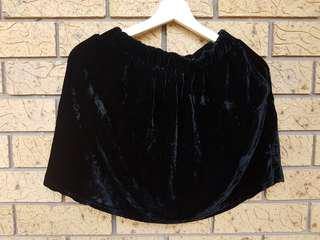 velvet glassons skirt