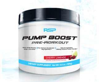 🚚 RSP PUMP BOOST 30 servings
