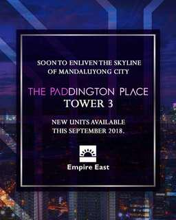 "PADDINGTON PLACE TOWER 3 ""NEW PRESELLING"""