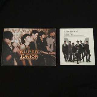 PRE-LOVED SUJU/SUJU-M ALBUMS