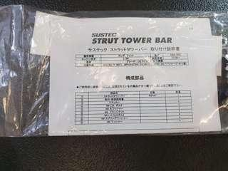 Tanabe sustec strut tower bar for 3rd gen Honda jazz/Fit